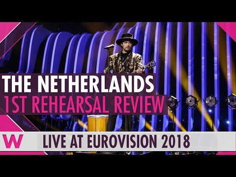 "The Netherlands First Rehearsal: Waylon ""Outlaw in 'Em"" @ Eurovision 2018 (Review) 