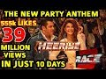 RACE 3 HEERIYE SONG BREAKS ALL RECORDS IN 10 DAYS FASTEST TO 39 MILLION VIEWS HATERS SILENT mp3