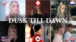 Download Lagu Who is better: ZAYN - Dusk Till Dawn ft. Sia Covers (Malaysia, Netherlands, USA, UK, Swiss, S-Korea) Gratis STAFABAND