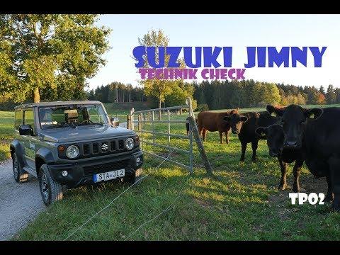 Suzuki Jimny 2018/2019   Technik Check   Fahrbericht   Offroad   test deutsch
