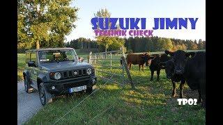 Suzuki Jimny 2018/2019 | Technik Check | Fahrbericht | Offroad | test deutsch