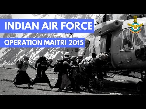 Nepal Earthquake - Operation Maitri 2015