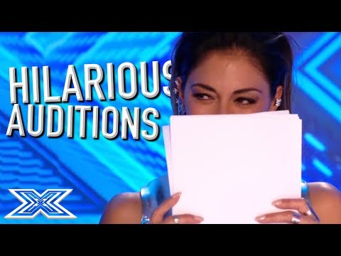 JUDGES Can't Stop LAUGHING! | X Factor Global