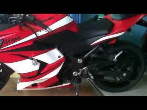 Dijual Ninja 250 R 2010 Merah Cash & Kredit