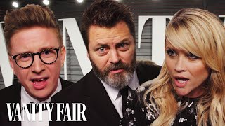 "Tyler Oakley, Reese Witherspoon, and Nick Offerman Read ""Cash Me Outside How Bow Dah"" 