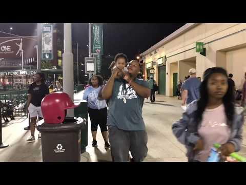 FAMILY NIGHT AT THE BASEBALL GAME| VLOG