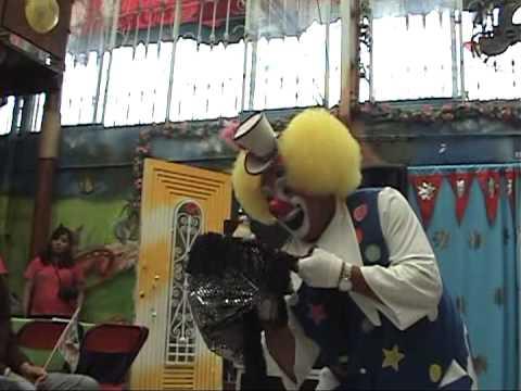 Show Payaso Farin en Salón Fiesta Fantasy