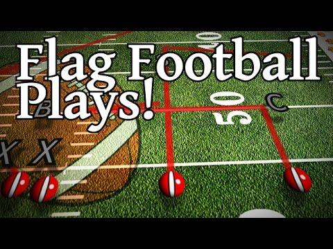 Offense Plays For Flag Football 8 Man Flag Football Plays How