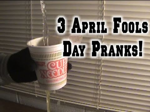 3 Simple April Fools Day Pranks Youtube