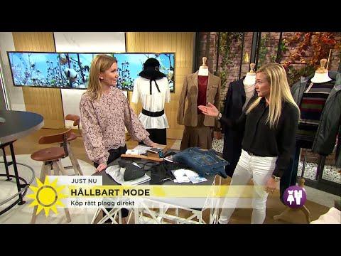 Så hittar du klimatsmarta kläder och får dem att hålla länge - Nyhetsmorgon (TV4)