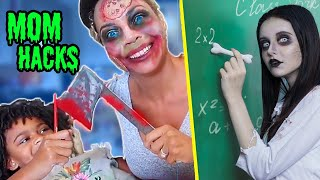 Zombie At School! / 12 DIY Zombie School Supplies EVERY MOM Must Try
