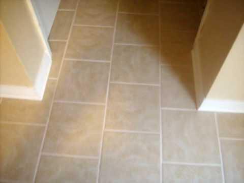 Tiled Kitchen Floors Brown