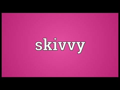 Header of skivvy