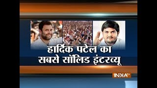 Congress is ready to give reservations to Patidars, Hardik Patel tells India TV