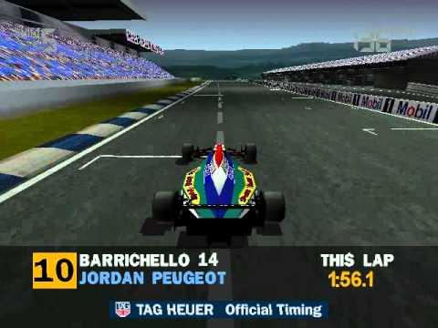 Formula 1 (95) - 9: Barrichello at Hockenheim