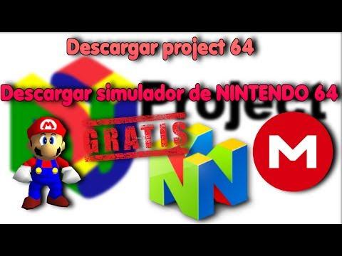 descargar e instalar simulador de NINTENDO 64 en español y gratis (project 64) - 2017