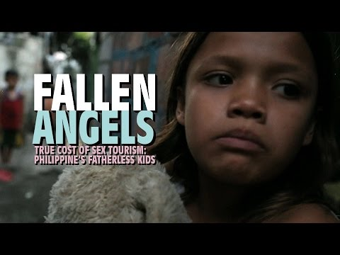 Fallen Angels. True cost of sex tourism: Philippine's fatherless kids (Trailer) Premiere 25/05