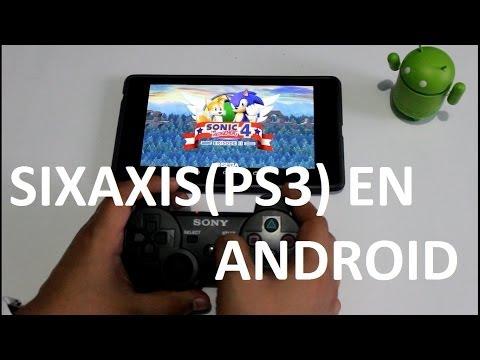 Juega con tu Control de PS3 (Sixaxis) en Android