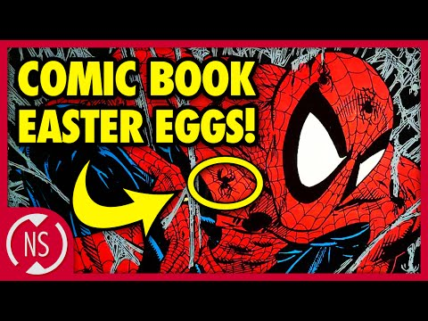 7 SECRETS Artists Hid in COMIC BOOKS! || Comic Misconceptions || NerdSync