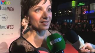 Julia Koschitz   Interview   Hin und weg Premiere [HD]