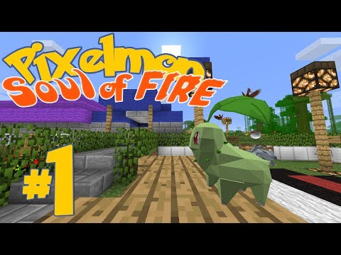 The Best Starter Ever - Pixelmon 3.0 Soul of Fire (Adventure Map)