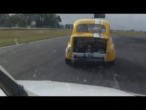 Fiat 600 Light - Ultima carrera La Plata 2011 - Team Jamesport - Leivas