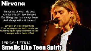 Nirvana - Smells Like Teen Spirit  (Lyrics English-Spanish) (Inglés-Español)