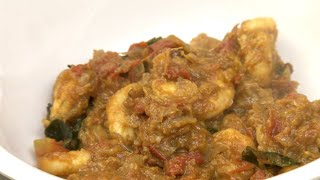 Prawn Masala - How to make Prawn Masala Chettinad Style - Red Pix Good Life recipes in tamil