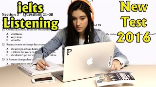 ielts listening practice test 2016 with answers
