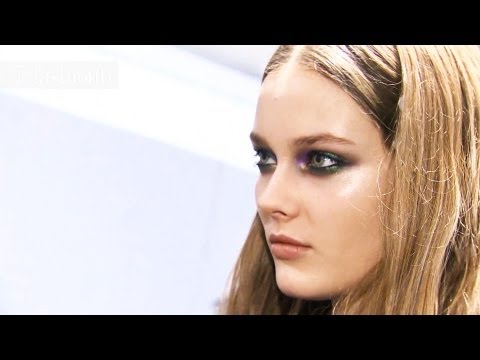 "Monika ""Jac"" Jagaciak - Model Talk at Fall/Winter 2012/13 Fashion Week 