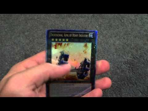 Yugioh Digvorzhak, King of Heavy Industry Orica Proxy Prize Card!!!