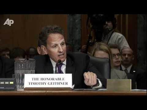 Geithner: Deficit Largely From Bush Admin.
