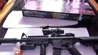 unboxing of airsoft spring toy gun from ebay..