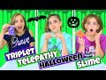 * Triplet * Twin Telepathy Slime Challenge - Halloween Slime!