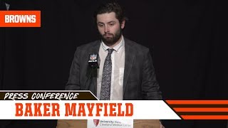 Baker Mayfield Reflects on Loss to Bengals & Difficult Season | Cleveland Browns