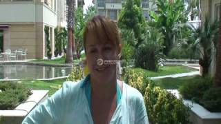 Alva Donna Exclusive Hotel & Spa 5* Russian view 2010 (part 1)