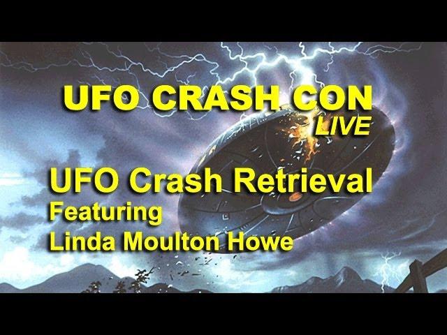UFO Crash Con - New UFO Crash Retrieval - Linda Moulton Howe LIVE FEATURE