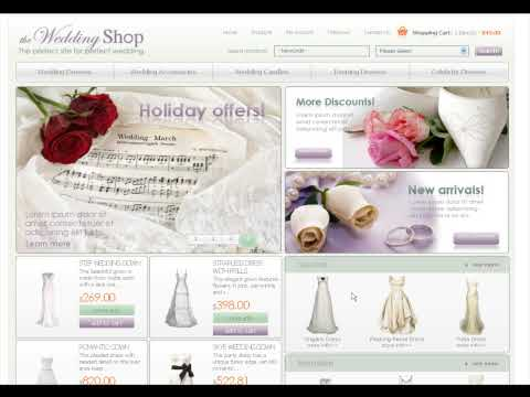 0 Wedding Store osCommerce template
