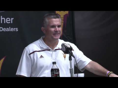 ASU Football: Colorado post-game press conference with Todd Graham