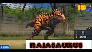 Jurassic World - LEVEL 40 RAJASAURUS