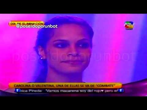 COMBATE: Carolina es Eliminada y Humillada por sus Compañeros 03/10/13