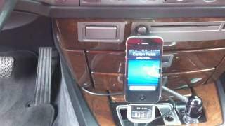 BMW AM/FM Tuner Mod for iPhone with auto switch