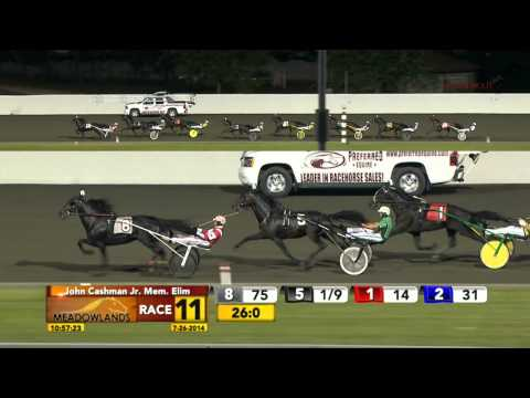 July 26, 2014 - Race 11 - John Cashman Jr Memorial Elimination - Sebastian K