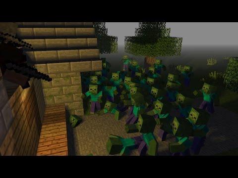 ВЫЖИТЬ В ЗОМБИ АПОКАЛИПСИСЕ | Minecraft | 1 Серия
