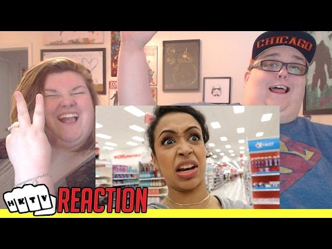 DOLLAR STORE WITH LIZA PART 2! REACTION!! 🔥