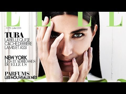 TUBA BUYUKUSTUN for ELLE ORIENTAL by GIOVANNI SQUATRITI - shooting backstage