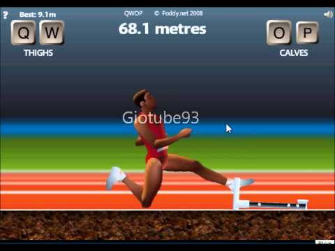QWOP Furthest Distance 102.3 Meters!! RWJ