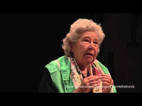 Masterclass Christa Ludwig part 1: Carina Vinke