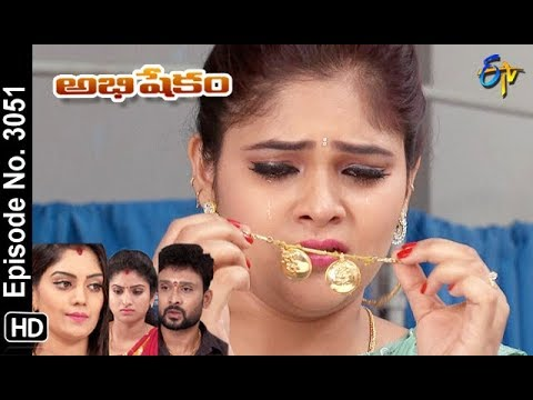 Abhishekam | 26th October 2018 | Full Episode No 3051 | ETV Telugu