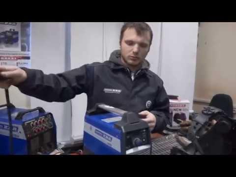 Как варить инверторной сваркой - видео